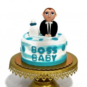 کیک فوندانتی بچه رئیس
