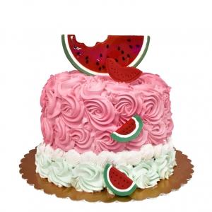 کیک خامه ای هندوانه