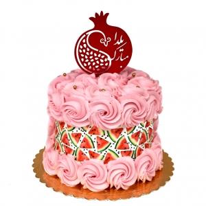کیک هندوانه و انار